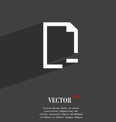 Remove Folder symbol Flat modern web design with vector