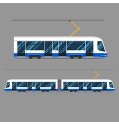 Set mass rapid transit urban vehicles vector