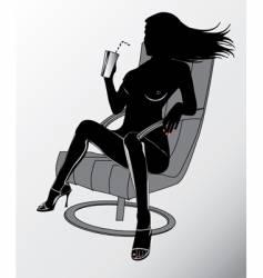 sexy woman vector image
