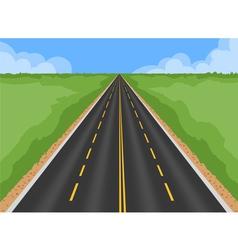 Superhighway vector image