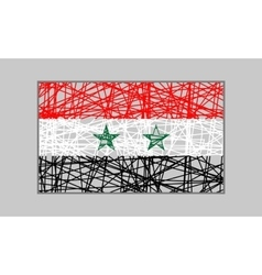 Syria flag design concept vector