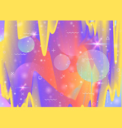 Universe background with galaxy and cosmos shapes vector