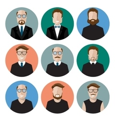 icon characters vector image