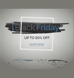 Black friday sale discounts blue technology banner vector