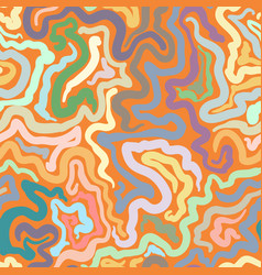 Colorful doodle abstract seamless background vector