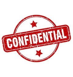Confidential sign vector