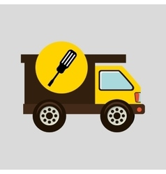 Construction gear icon screwdriver vector