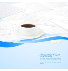 Design architecture vector image