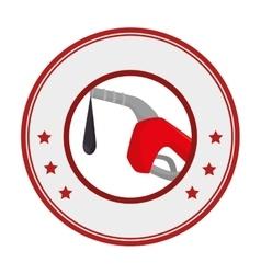 Fuel station service icon vector