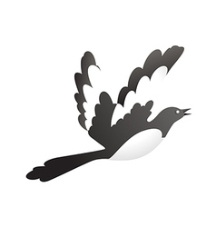 Icon bird vector