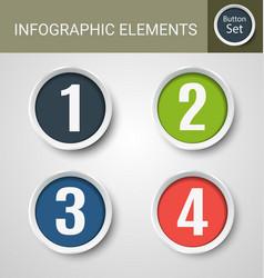 infographic element set3 vector image