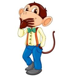 Monkey man vector