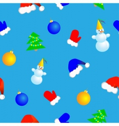 new year seamless vector image