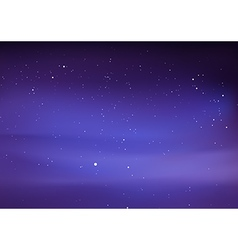 Night Sky with Stars vector