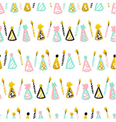 party celebrate seamless pattern vector image