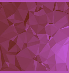 Shiny polygonal background in hot pink tones vector