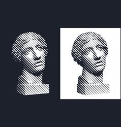 statue 005 vector image