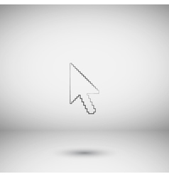 arrow cursor icon vector image vector image