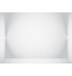 Empty Wall vector image vector image
