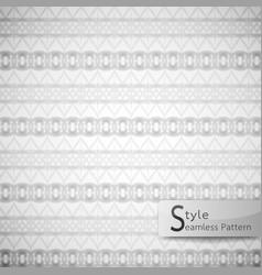 abstract seamless pattern ribbon bow mesh white vector image