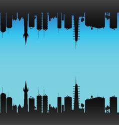 city color vector image