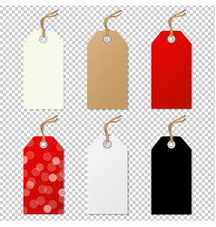 sale tags collection vector image vector image
