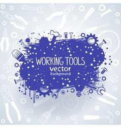 tools background vector image vector image