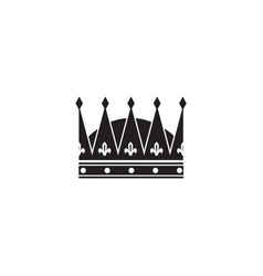 Classic royal crown for coronation a king or vector