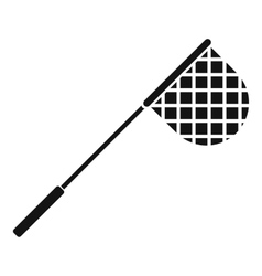 Fishing net icon simple style vector image
