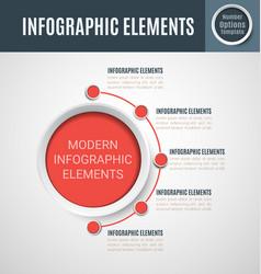 infographic element set7 vector image