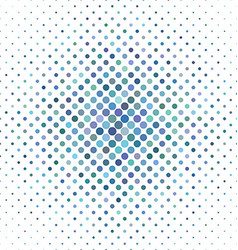 Light blue circle pattern background vector image
