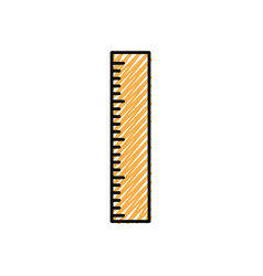 Ruler measurement tool vector