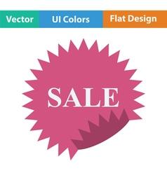 Sale tag icon vector image