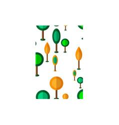 tree seamless vector image