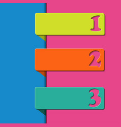 3d pointers for first second and third place vector