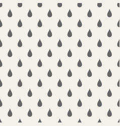 abstract seamless pattern raindrops vector image