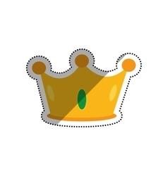Crown royal symbol vector image
