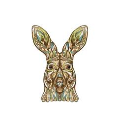 ethnic kangaroo vector image