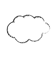 Figure natural cloud and cloudy weather vector