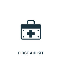 first aid kit icon premium style design from vector image