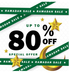 Flyer sale discount label or banner occasion of vector