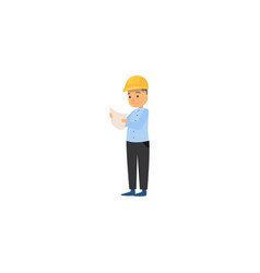 Foreman master icon raster isolated vector