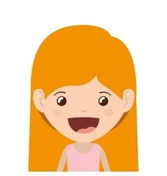 Girl cartoon design vector