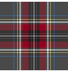 Gray red check plaid texture seamless pattern vector