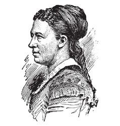 julia dent grant vintage vector image