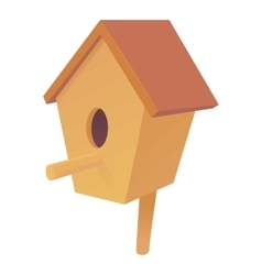 Nesting box icon cartoon style vector image