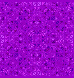 Purple seamless abstract curved triangle mosaic vector