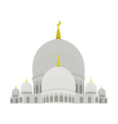 Sheikh zayed mosque vector