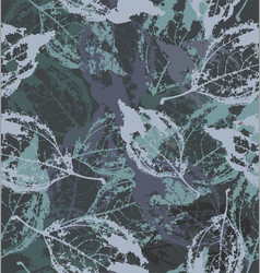 skeletons leaf in colors vector image