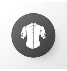 Blouse icon symbol premium quality isolated vector